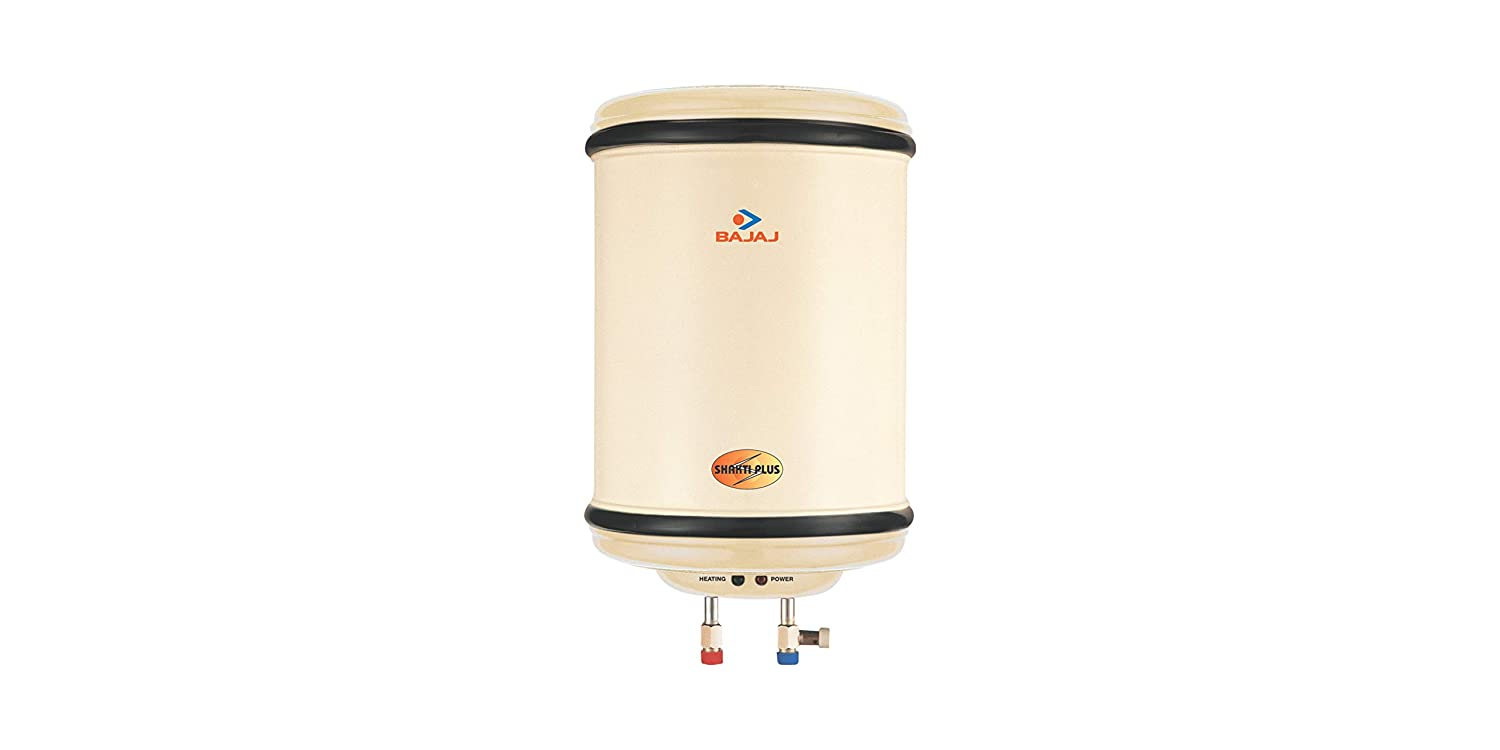 Bajaj Shakti Plus 25-Litre 2000-Watt Storage Water Heater (Ivory)