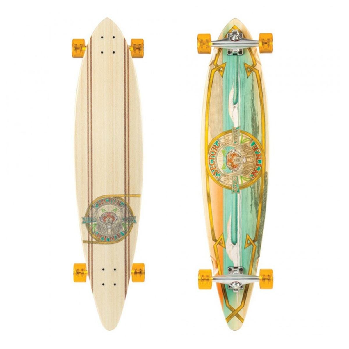 Sector 9 G-Land Complete Skateboard, 44.0 x 9.75 x 30.5-Inch, Assorted by Sector 9