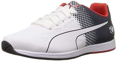 Puma BMW MS evoSPEED Lace Jr Sneaker (Big Kid), Team Blue