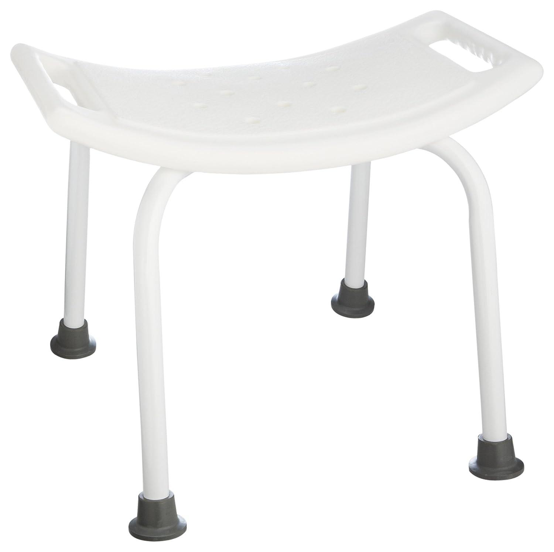 Taymor White Powder Coated Bath Safety ADA Seat 03-8000