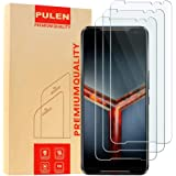 [3 Pack] PULEN for Asus ROG Phone 2 ZS660KL(2019) Screen Protector,HD Anti-Fingerprints Scratch Resistance Bubble Free…