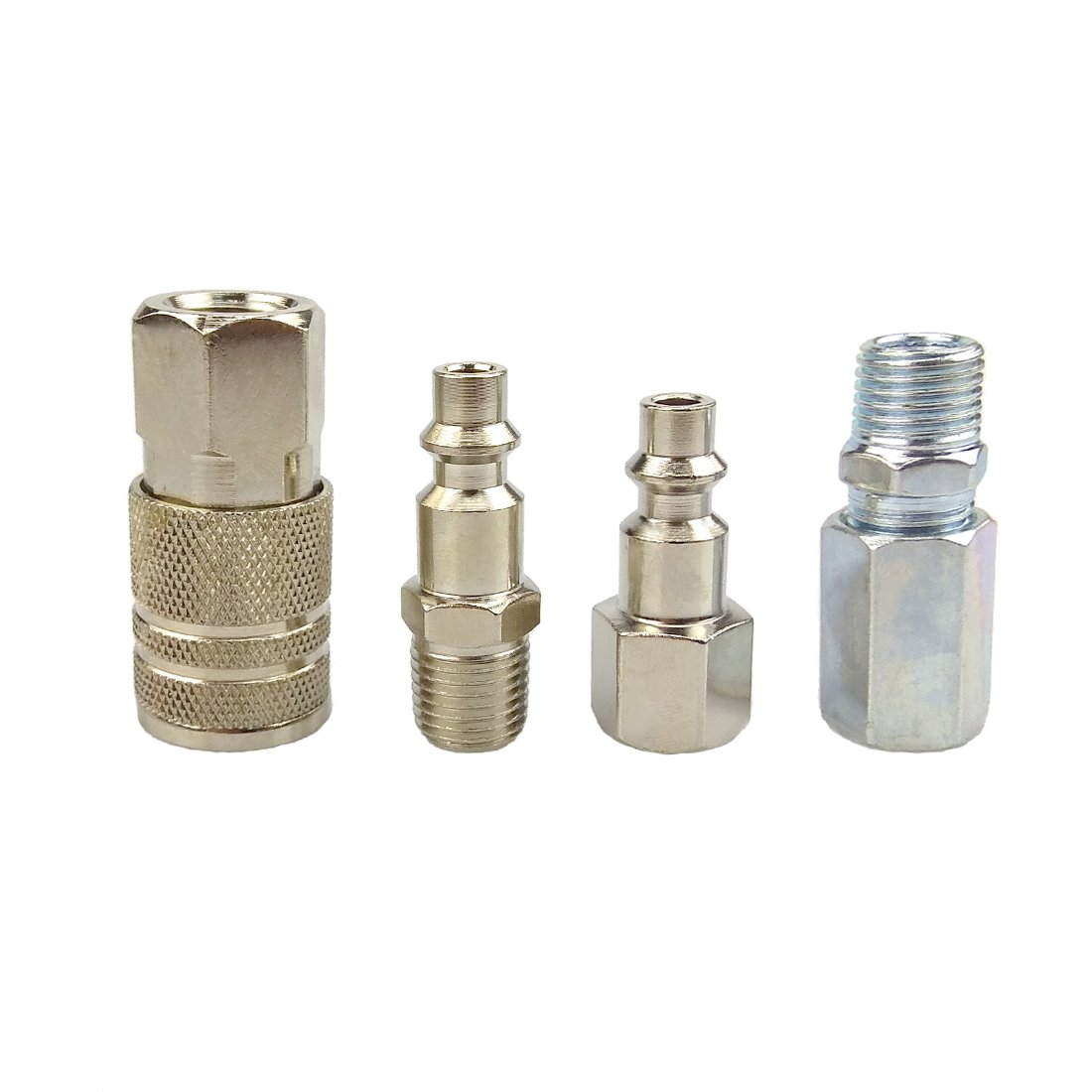 20 Piece/ 20 Piece/ 1//4 NPT Air Tool Kit w//1//4x25Ft Coil Nylon Hose//Blow Gun//Tire Gauge 1//4 NPT Air Tool Kit w//1//4x25Ft Coil Nylon Hose//Blow Gun//Tire Gauge Tuhoomall Air Compressor Accessory Kit