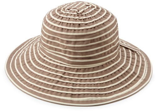 San Diego Hat Company Women's Stripe Adjustable Hat, Almo...
