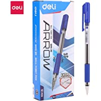 Deli EQ01530 Deli Ball Point Pen Low viscosity ink for an extra smooth writing EQ01530-