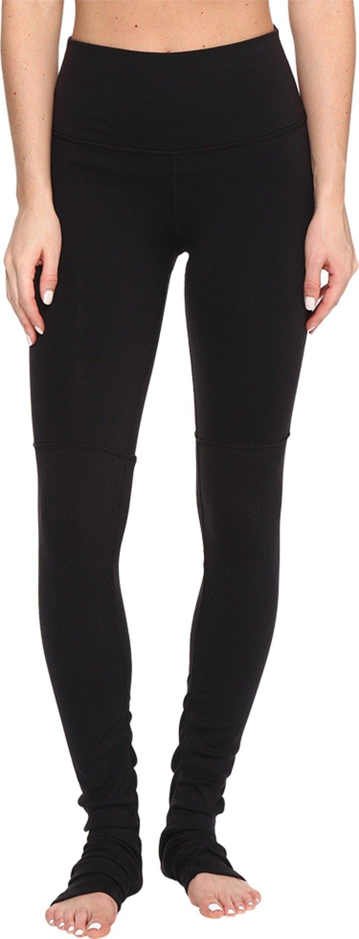 ALO Women's High Waisted Goddess Leggings Black/Black X-Small 33