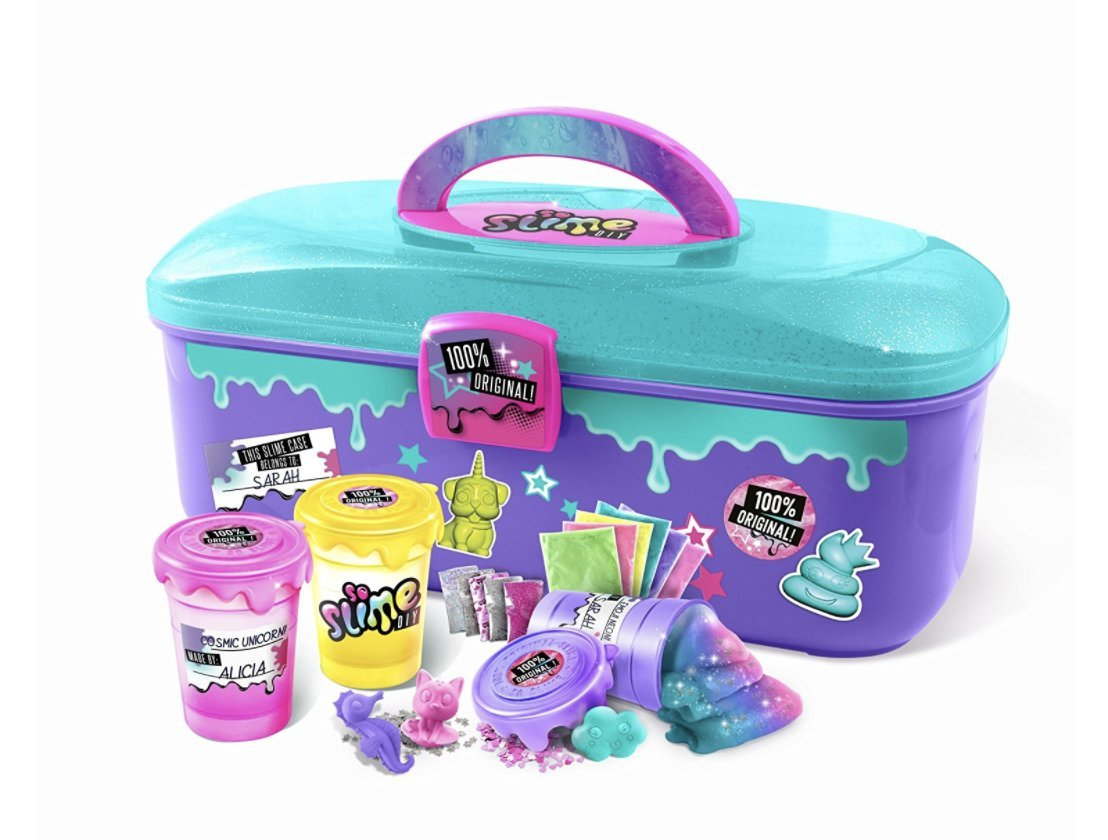 So Slime Storage Case + Rainbow 3 Pack! Make Your Own Slime! by So Slime (Image #3)