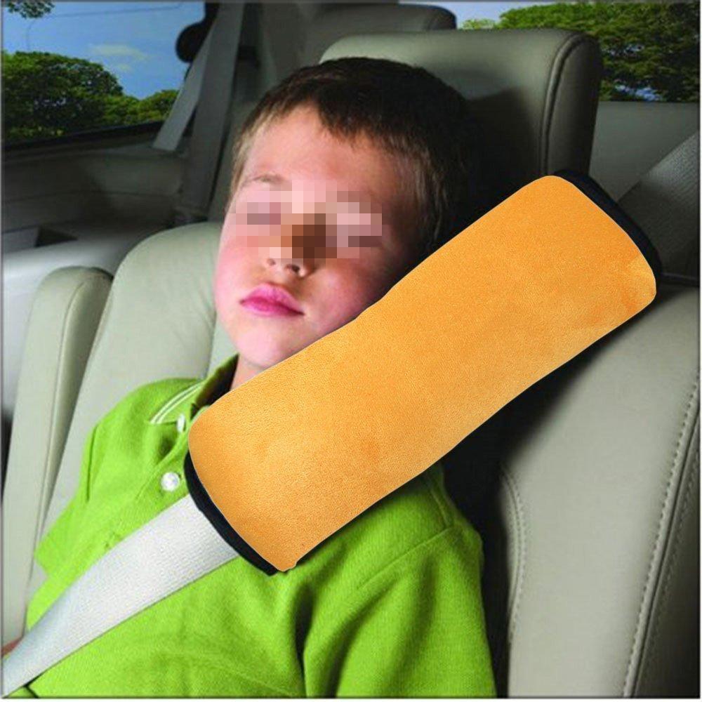 Xel Uu.11CAR Pillow Cuscino di Sostegno Regolabile Cintura della Testa per Bambini Blue