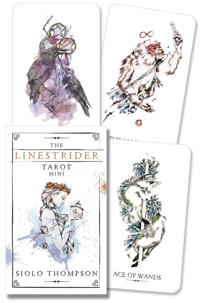 The Linestrider Tarot Mini: Thompson, Siolo: 9780738765624: Amazon.com: Books
