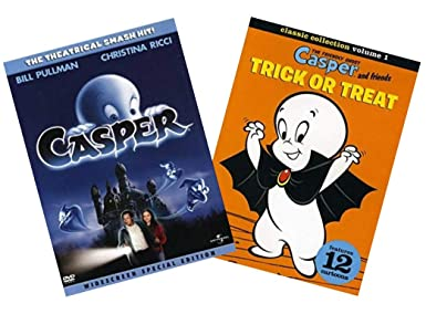 Casper Kids & Family 2-Pack DVD Collection: Casper: The Movie ...