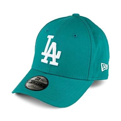 New Era Kids 9FORTY L.A. Dodgers Baseball Cap - MLB League Essential - Green 3a0f62adf51