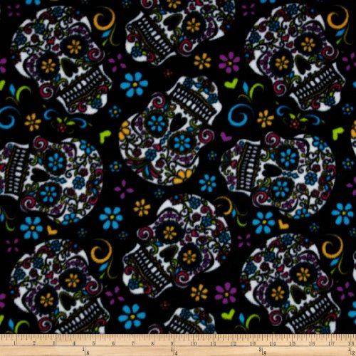 Black Skull Fleece - 6