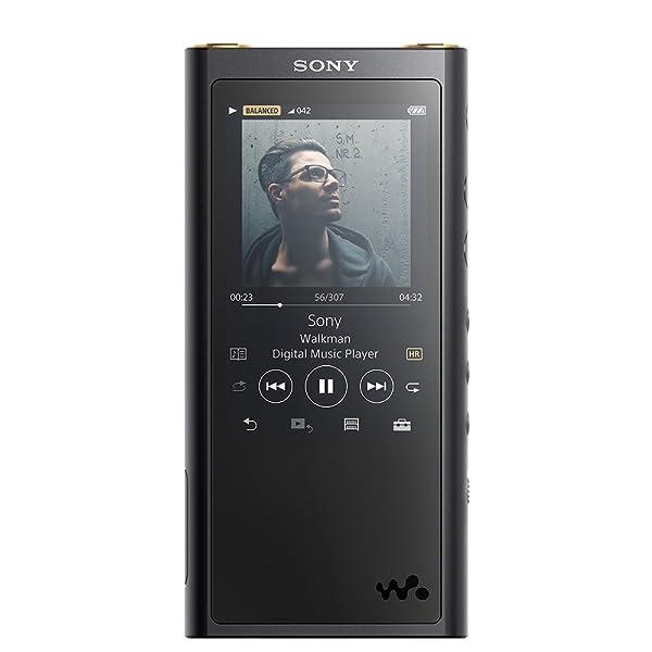ソニー SONY ウォークマン ZXシリーズ 64GB NW-ZX300 : ハイレゾ/Bluetooth/microSD/Φ4.4mmバランス接続対応 最大26時間連続再生 2017年モデル ブラック NW-ZX300 B