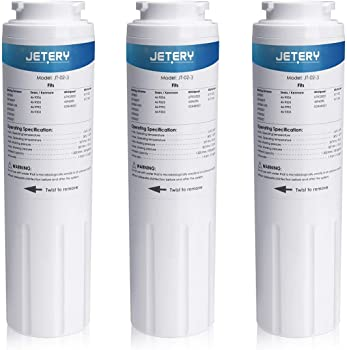 3-Pack Jetery UKF8001 Replacement Refrigerator Water Filter