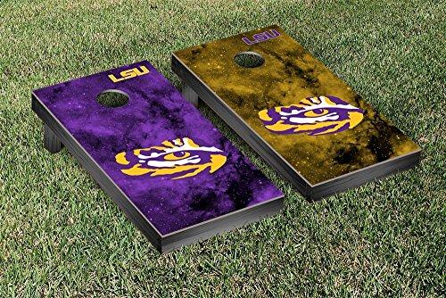 Victory Louisiana State LSU Tigers Cornhole Game Set Gala...