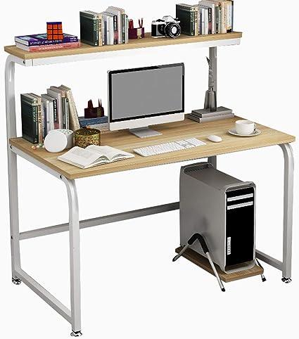 Escritorio para computadora portátil con estantería ...