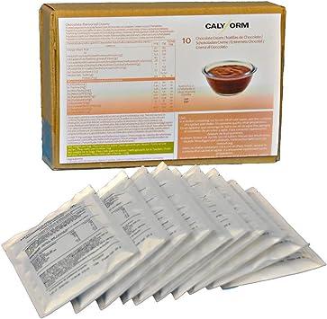 CALYFORM Natillas proteicas para dieta saciante sabor Chocolate   Proteína en polvo para preparar natillas de calidad y aporte en aminoácidos ...