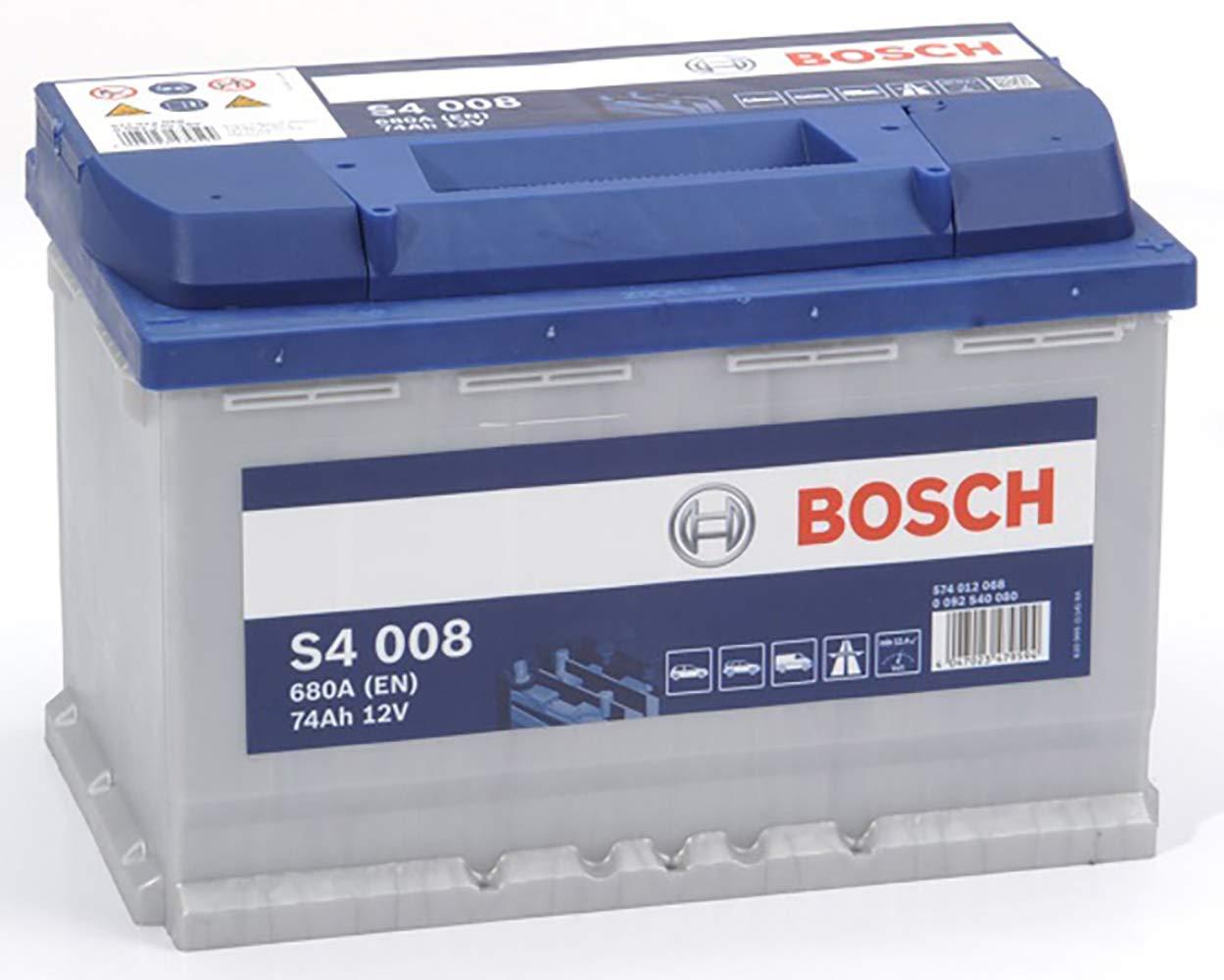 Bosch S4008 Batterie de Voiture 74A//h-680A