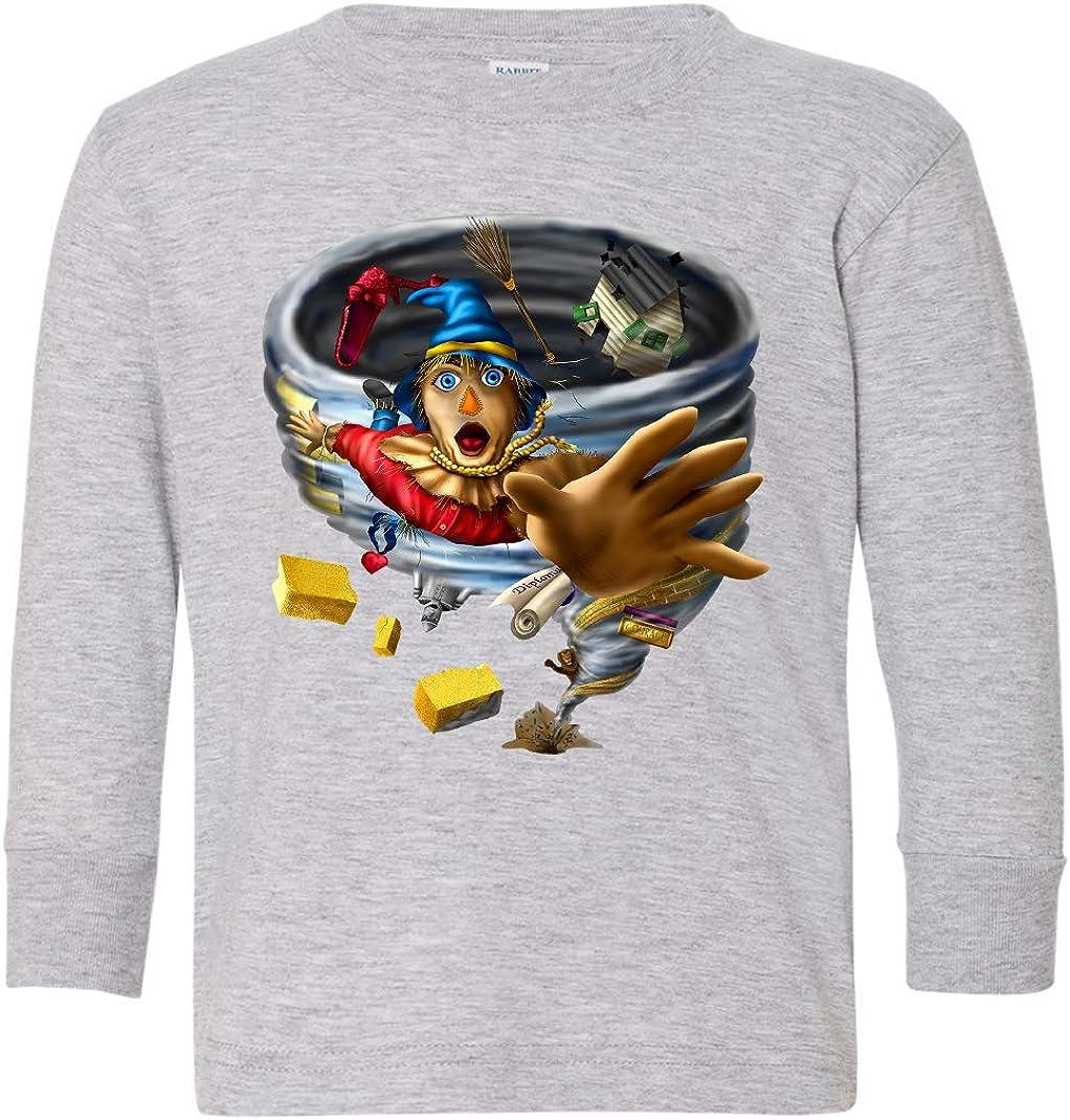 Tenacitee Toddlers Back to Oz Long Sleeve T-Shirt