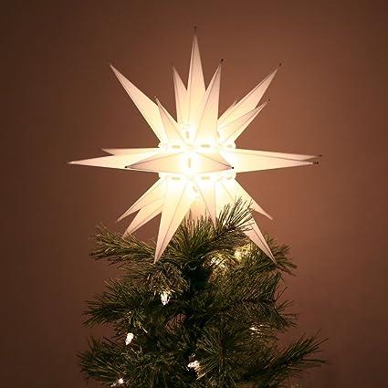 Amazon.com: Jack Kimmel Moravian Light Tree Topper: Home & Kitchen