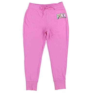 293bd5d1c809f Victoria's Secret Pink Skinny Jogger Sweatpants at Amazon Women's Clothing  store:
