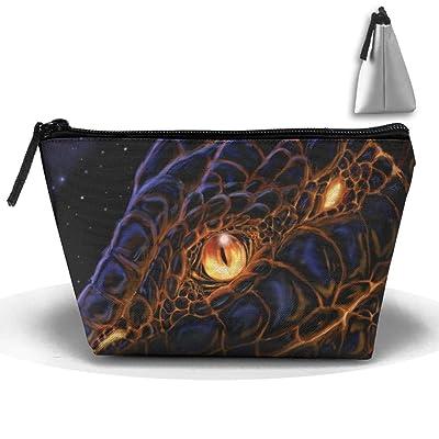 Unisex Stylish And Practical Awesome Amazing Lava Snake Head Trapezoidal Storage Bags Handbags