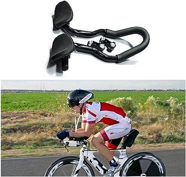 Full Carbon Bicycle Handlebars Road Bike TT Time Trial Triathlon Aero Bar Bike