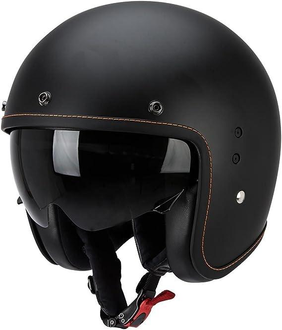 SCORPION Casque Motocorpion BELFAST LUXE Noir Taille M