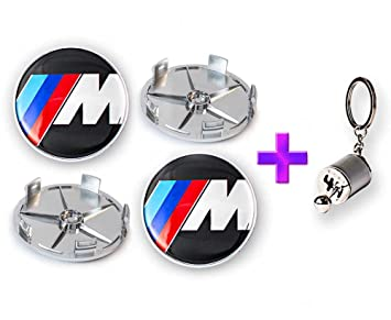4 x///M Logo centro de rueda Caps 5 clips + caja de cambios ...