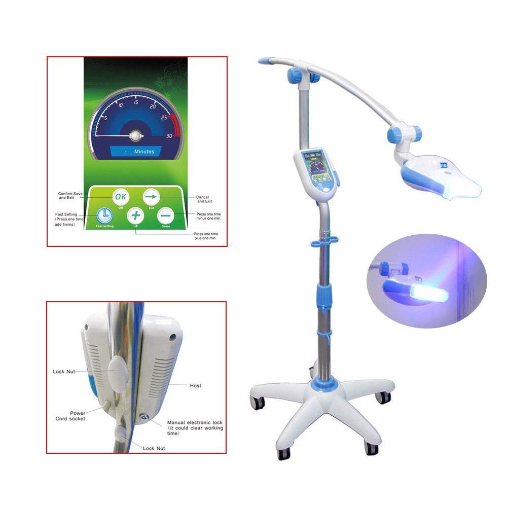 BONEW Dental LED Teeth Whitening System Bleaching Light Lamp with Camera MD887