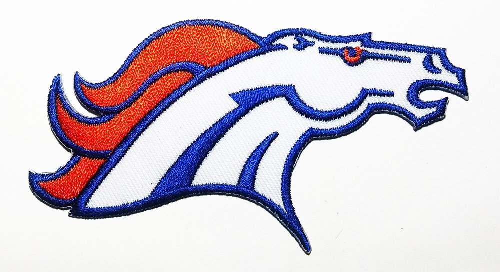 Horse Denver Animal Logo Patch Embroidered Sew Iron On Patches Badge Bags Hat Jeans Shoes T-Shirt Applique horse ct-1