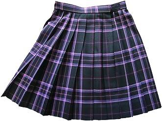 KR358 黒×ピンクチェック W60・63・66・69・72 丈42・48cm KURI-ORI[クリオリ]スリーシーズンスカート seifuku skirt