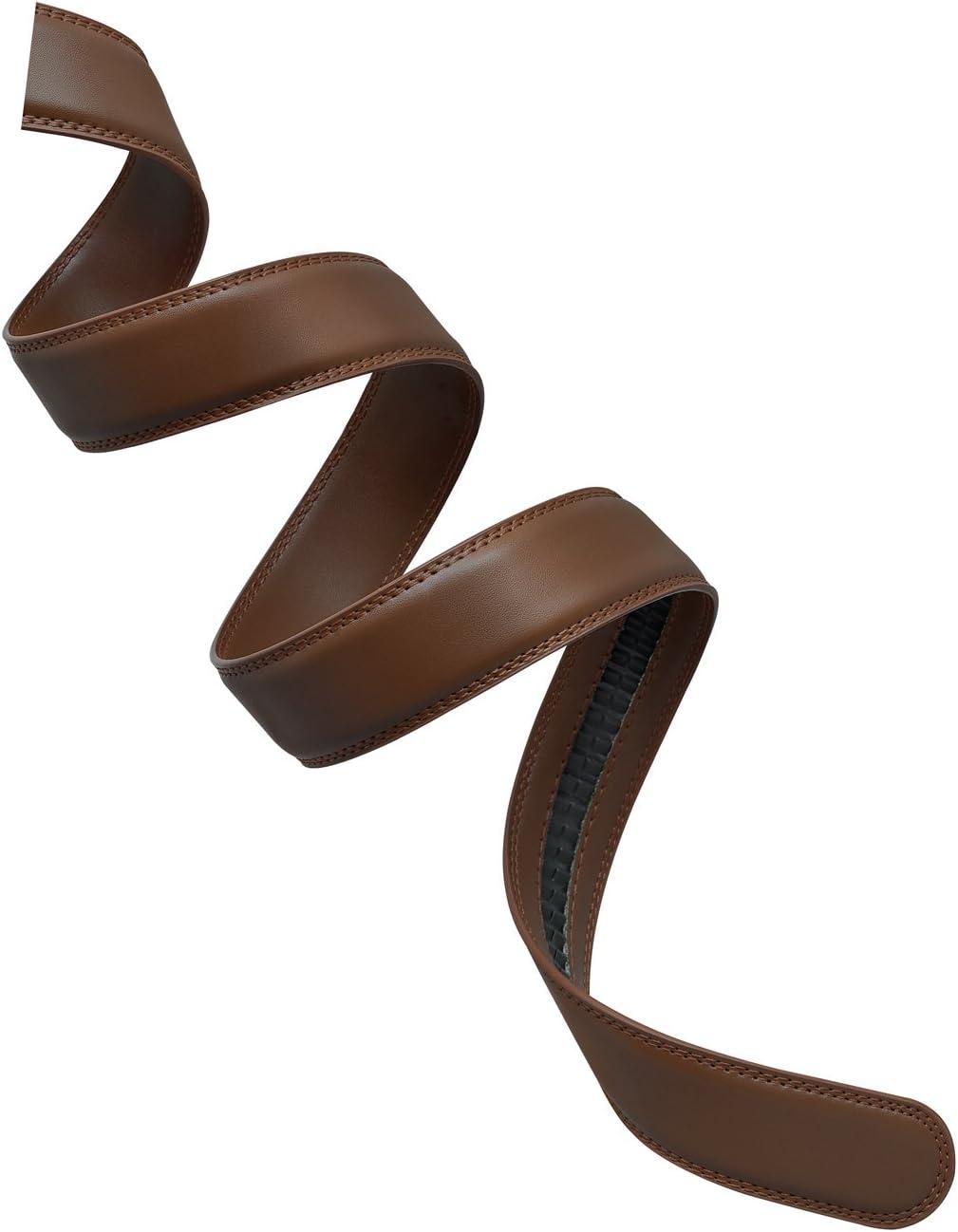 Black Mission Belt Leather 35mm