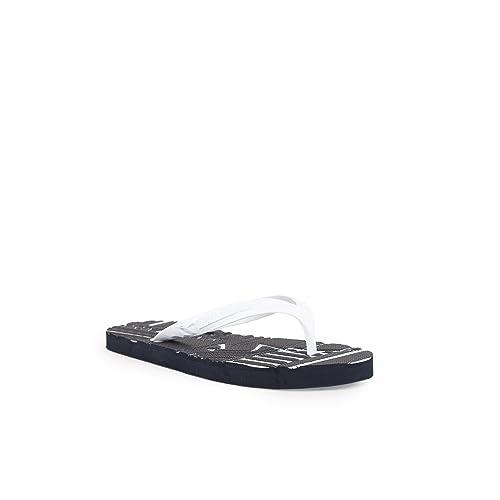55bb2c4b3515a4 Emporio Armani Men s Thong Sandals Multicolour 00001 OPWHITE+Night OPWHITE  Multicolour Size  7