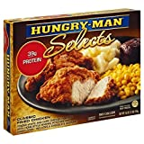 HUNGRY MAN SELECTS TV CLASSIC FRIED CHICKEN DINNER 1 LB PACK OF 3