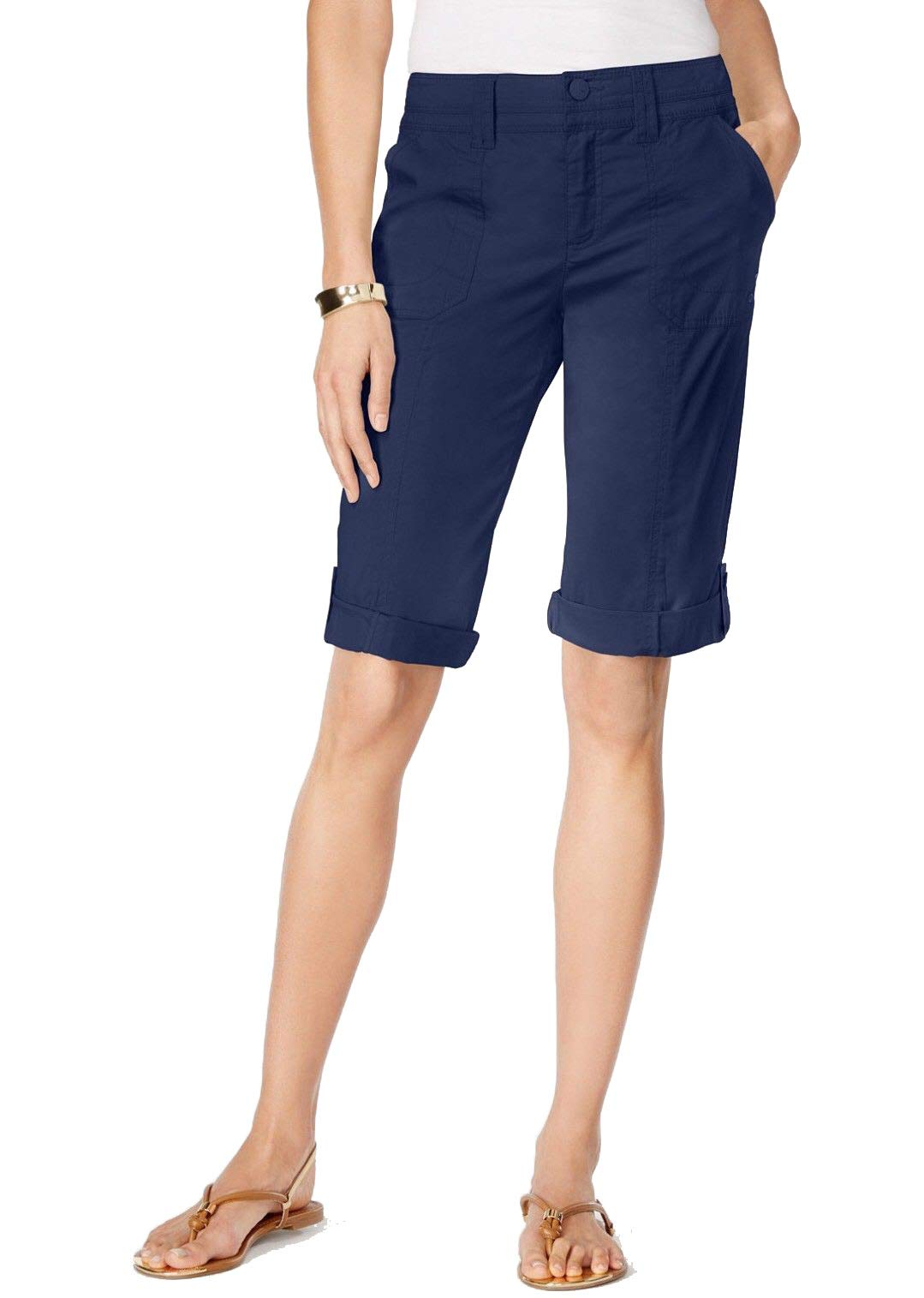 Style & Co. Industrial Blue Shorts Size 12P NWT - Movaz