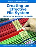 Creating an Effective File System (Manage Your Work Life Series Book 4)