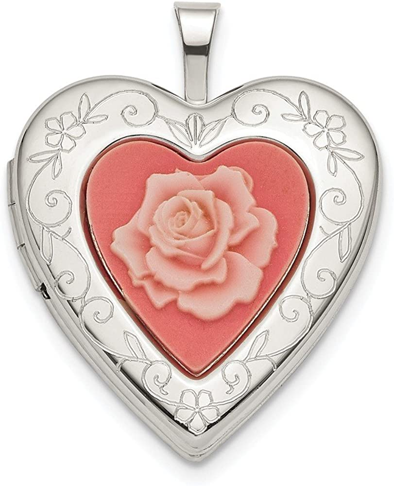 Beautiful Sterling silver 925 sterling Sterling Silver Heart Charm