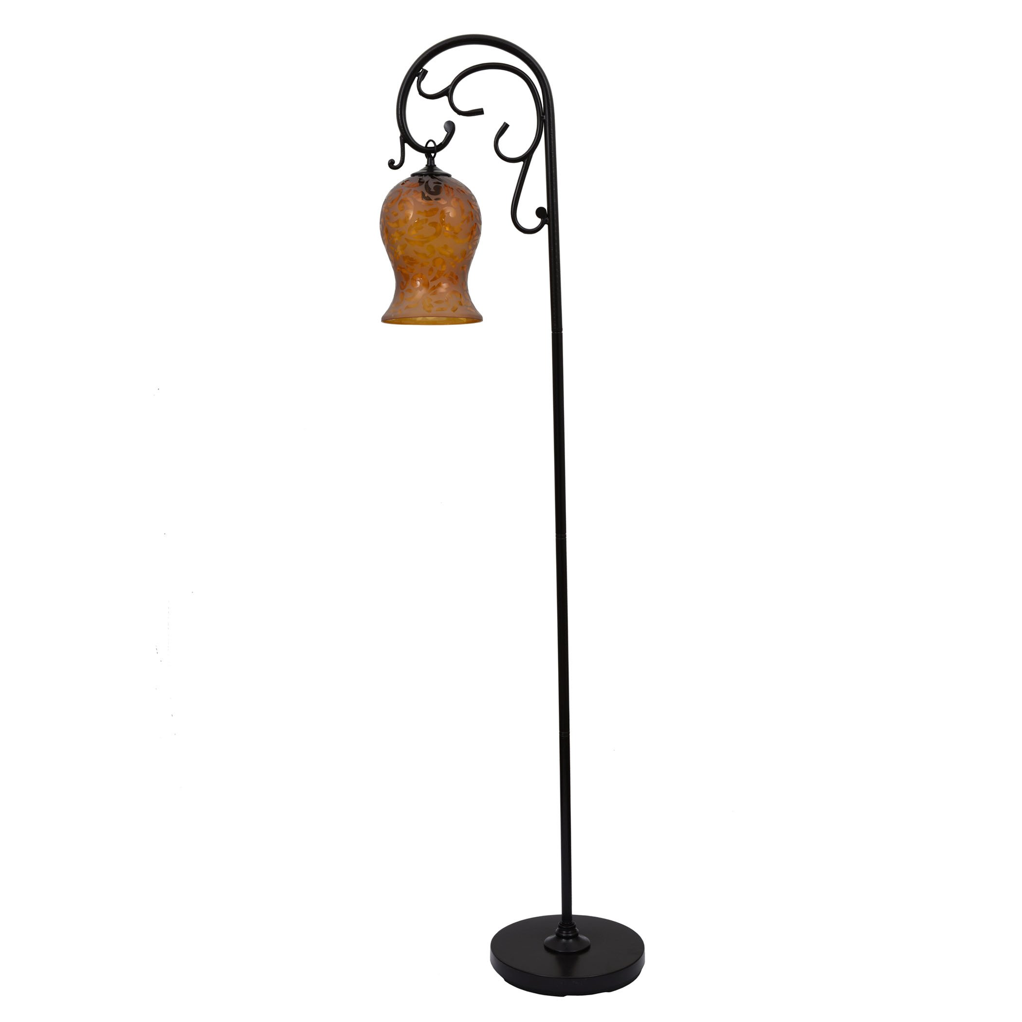 Décor Therapy PL1580 64 Inch Textured Floor Lamp, Bronze