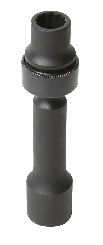 Sunex 214zudl 1//2-Inch Drive 7//16-Inch 12-Point Driveline Socket Sunex International