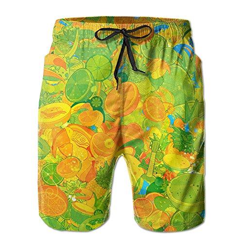 Fruit Feast Beach Shorts Swim Trunk