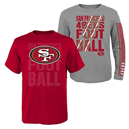 sports shoes 5bc98 3e647 Amazon.com : Outerstuff Youth Boys San Francisco 49ers Tee ...