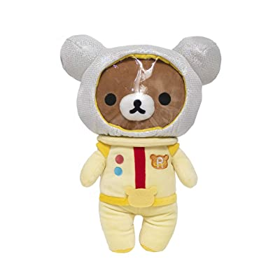 "San-X Rilakkuma Space Plush Teddy Bear - Large 14"": Toys & Games"