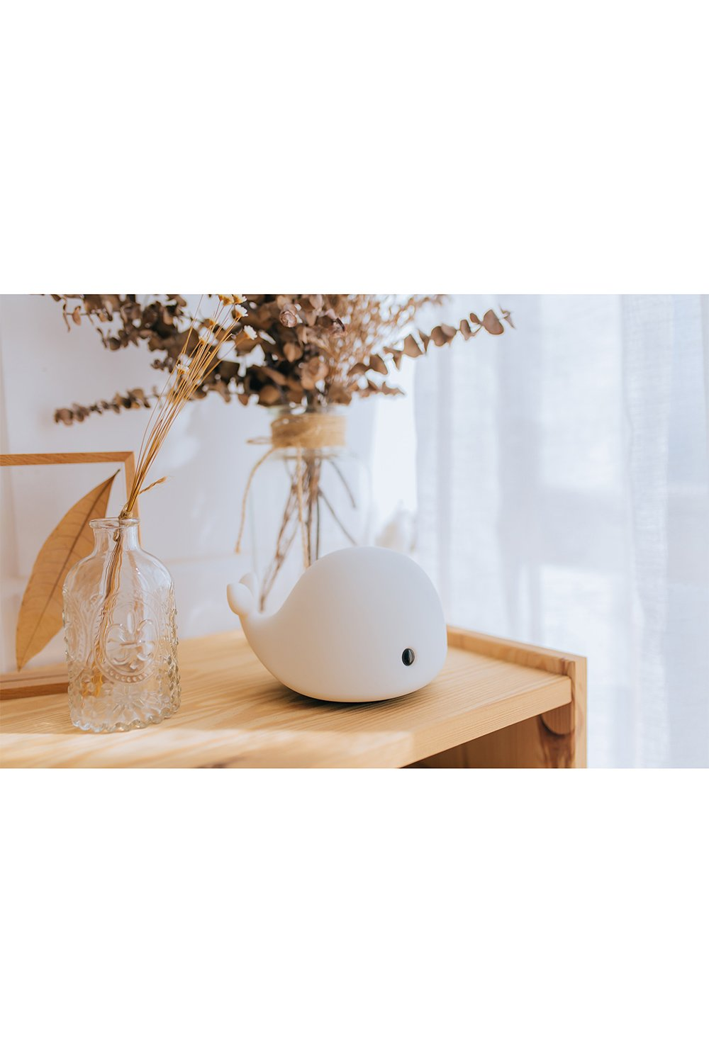 Innerest Baby Children Night Light Nursery Breastfeeding Mood Lamp Touch Control USB Rechargeable Various Shapes One Size, Angola Rabbit