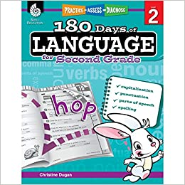 180 Days Of Language For Second Grade Build Grammar Skills And