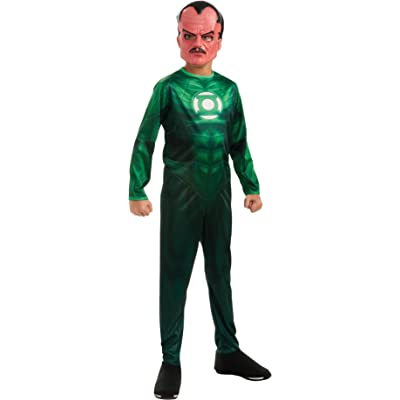 Green Lantern Child's Sinestro Costume - One Color - Small: Toys & Games