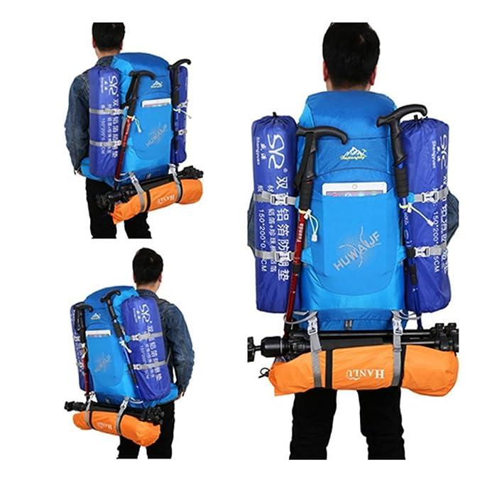 d2a0c365b8a3 Amazon.com : ZOUQILAI 70L Hiking Backpack Waterproof Outdoor ...