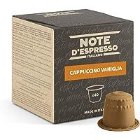 Note d'Espresso - Capuchino Vainilla - Cápsulas compatibles con Cafeteras NESPRESSO - 40 caps