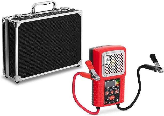 Steinberg Systems Sbs Bt 612 Autobatterie Tester Digital 6 V 12 V Autobatterie Tester Batterietester Batterietestgerät 40 200 Ah 10 S Testzeit Lcd Display Baumarkt