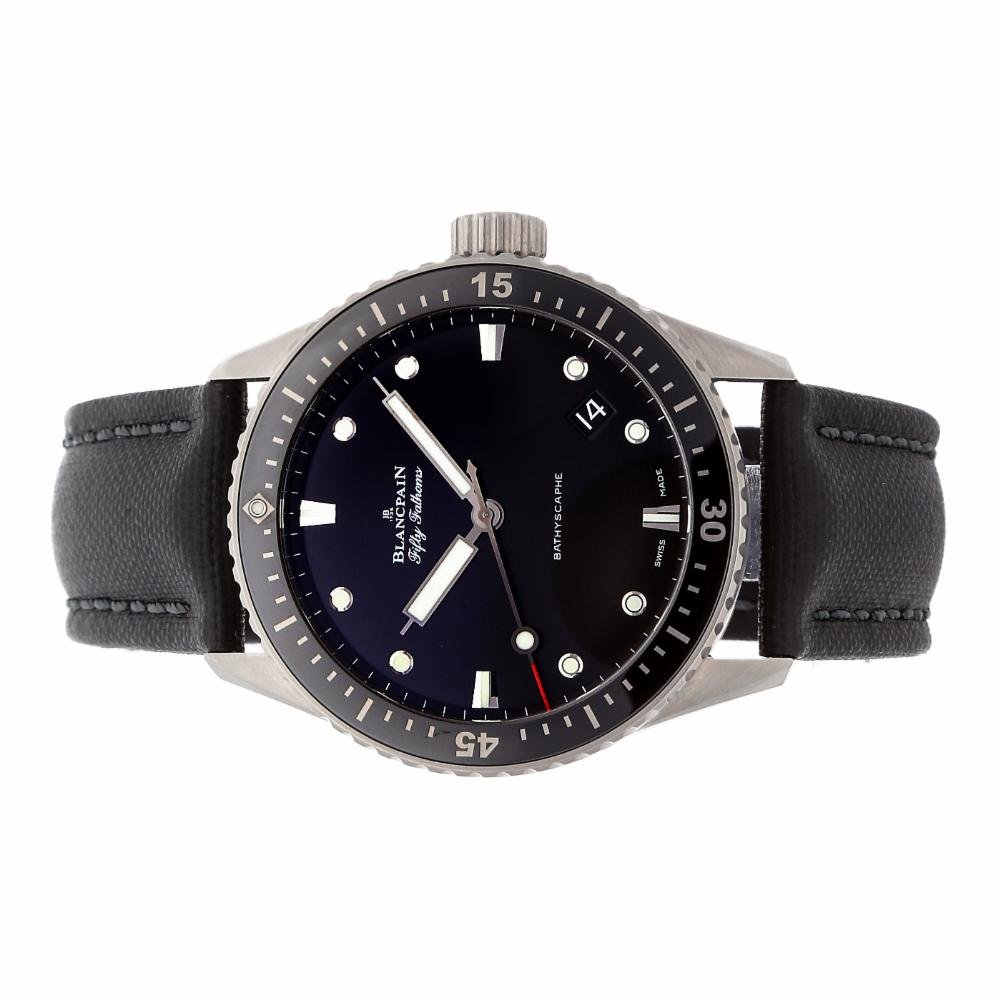 Blancpain Fifty Fathoms automatic-self-wind mens Watch 5000-1230-B52A (Certified Pre-owned)