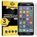 "[3 Pack] iPhone 6S Plus / 6 Plus 5.5"" Screen Protector, Nearpow® [3D Touch Compatible - Tempered Glass] Screen Protector with [9H Hardness] [Crystal Clear] [Bubble-Free Installation] [Scratch Resist]"